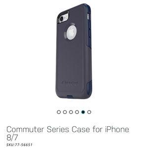 2/25🌸 iPhone 7/8 Otterbox Commuter Case